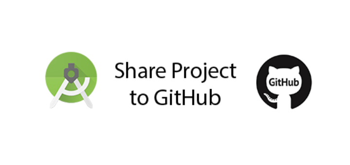 How to use Android Studio share project on GitHub - QuestDot