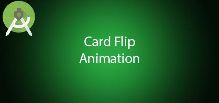 Android 2D Card Flip Animation Tutorial - QuestDot