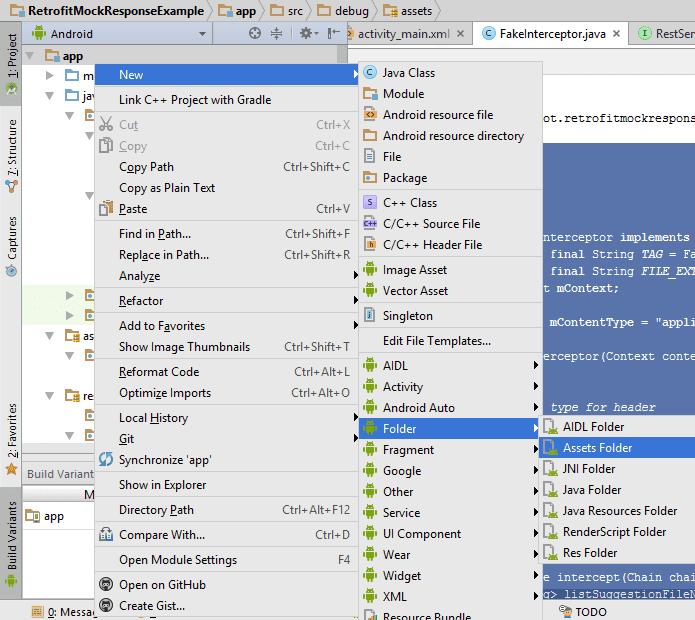 Android Retrofit Mock Response Tutorial - QuestDot